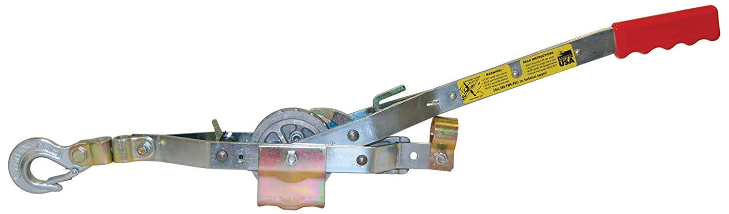 Maasdam A-O Long Haul Rope Puller, No Rope, 3/4-Ton Pull' R Holdings