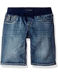 Girls' Knit Waist Bermuda Short