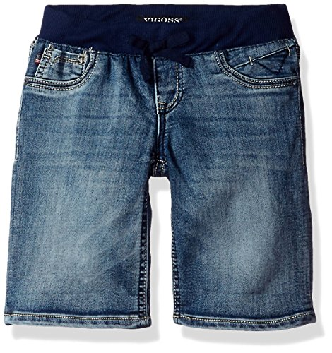 VIGOSS Girls' Knit Waist Bermuda Short, Custom Mid (Girls Knit Bermuda Shorts)