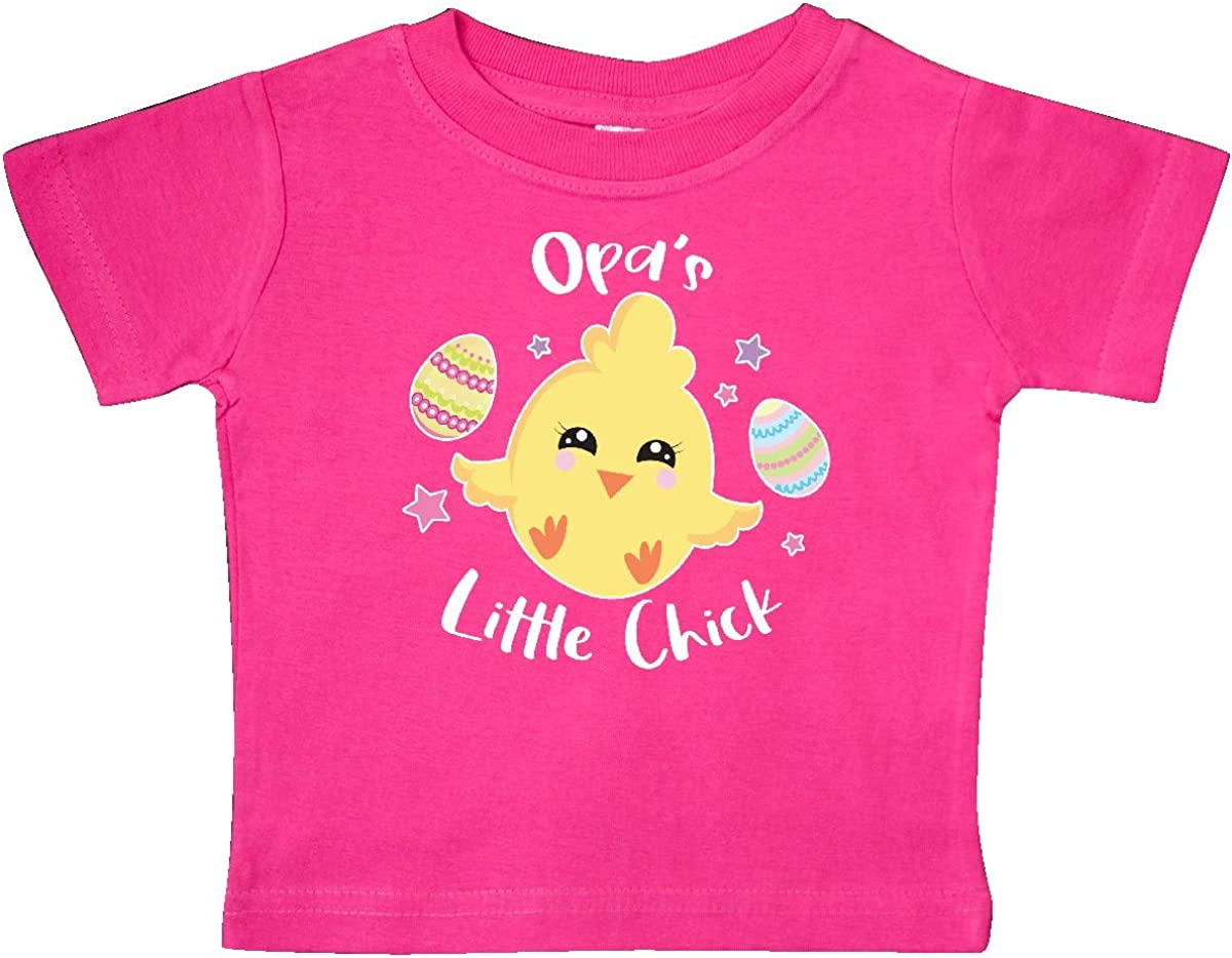 inktastic Happy Easter Opas Little Chick Baby T-Shirt