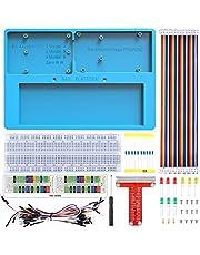 Per Arduino Raspberry Pi Portapane per pane Kuman Kit 7 in 1 GPIO Scheda di espansione BREAKOUT per arduino uno r3 Mega 2560 SC23