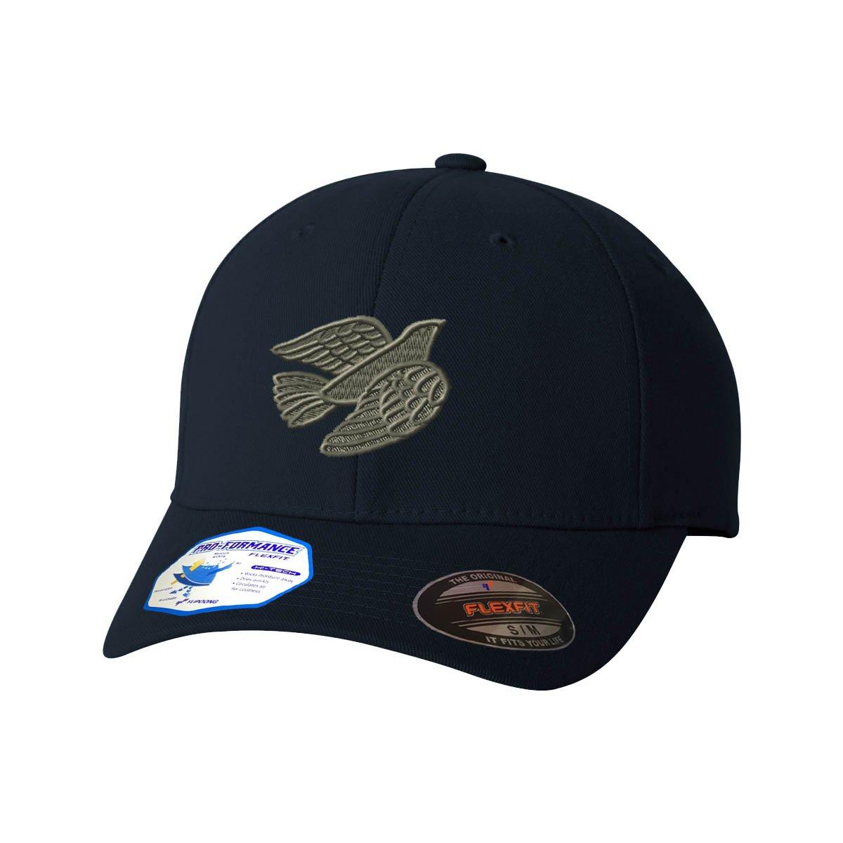 Dove Holy Spirit Flexfit Adult Pro-Formance Hat Dark Navy Large//X-Large
