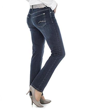 große Auswahl an Designs Detaillierung 100% authentisch MAC Jeans Melanie Blau D48 L34: Amazon.de: Bekleidung