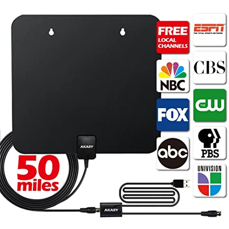 Review HDTV Antenna, AKARY 50