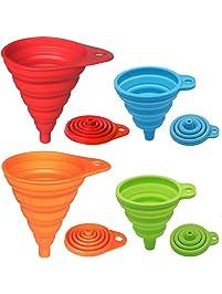fcf39adb1d5b Amazon.com: Funnels - Specialty Tools & Gadgets: Home & Kitchen