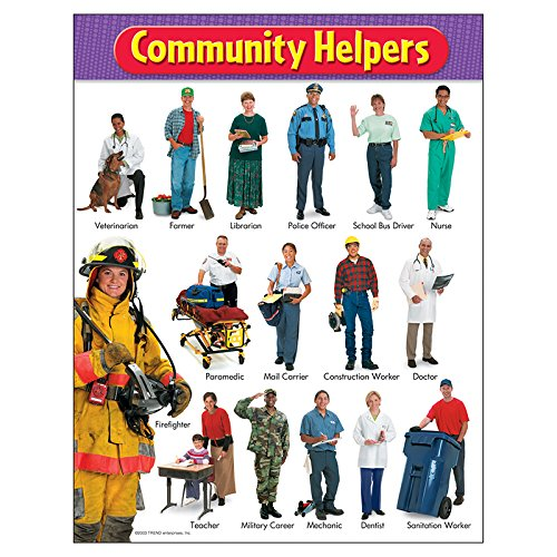 (TREND enterprises, Inc. Community Helpers Learning Chart, 17