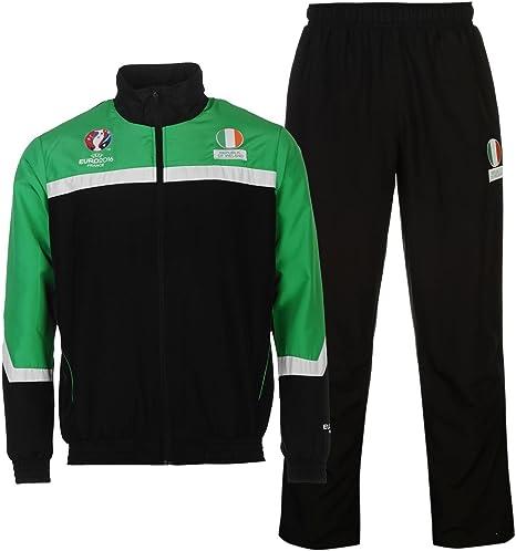 UEFA EURO 2016 República de Irlanda 2pc Chándal Verde – Juego de ...