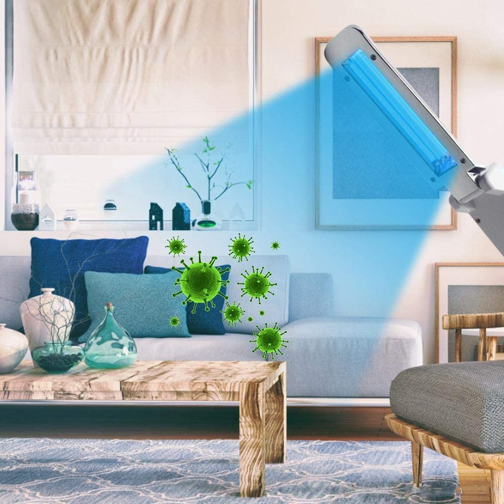 UV L/ámpara Ultravioleta Germicida LUZ Ultravioleta/de Desinfecci/ón UVC L/ámpara de 99/% de tasa antibacteriana sin productos qu/ímicos para Casa Oficina Hotel