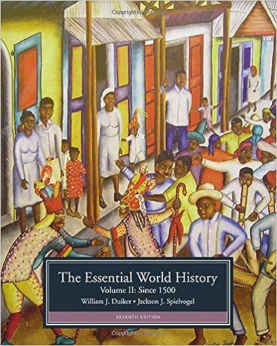 Amazon 2 the essential world history volume ii since 1500 2 the essential world history volume ii since 1500 7th edition fandeluxe Choice Image