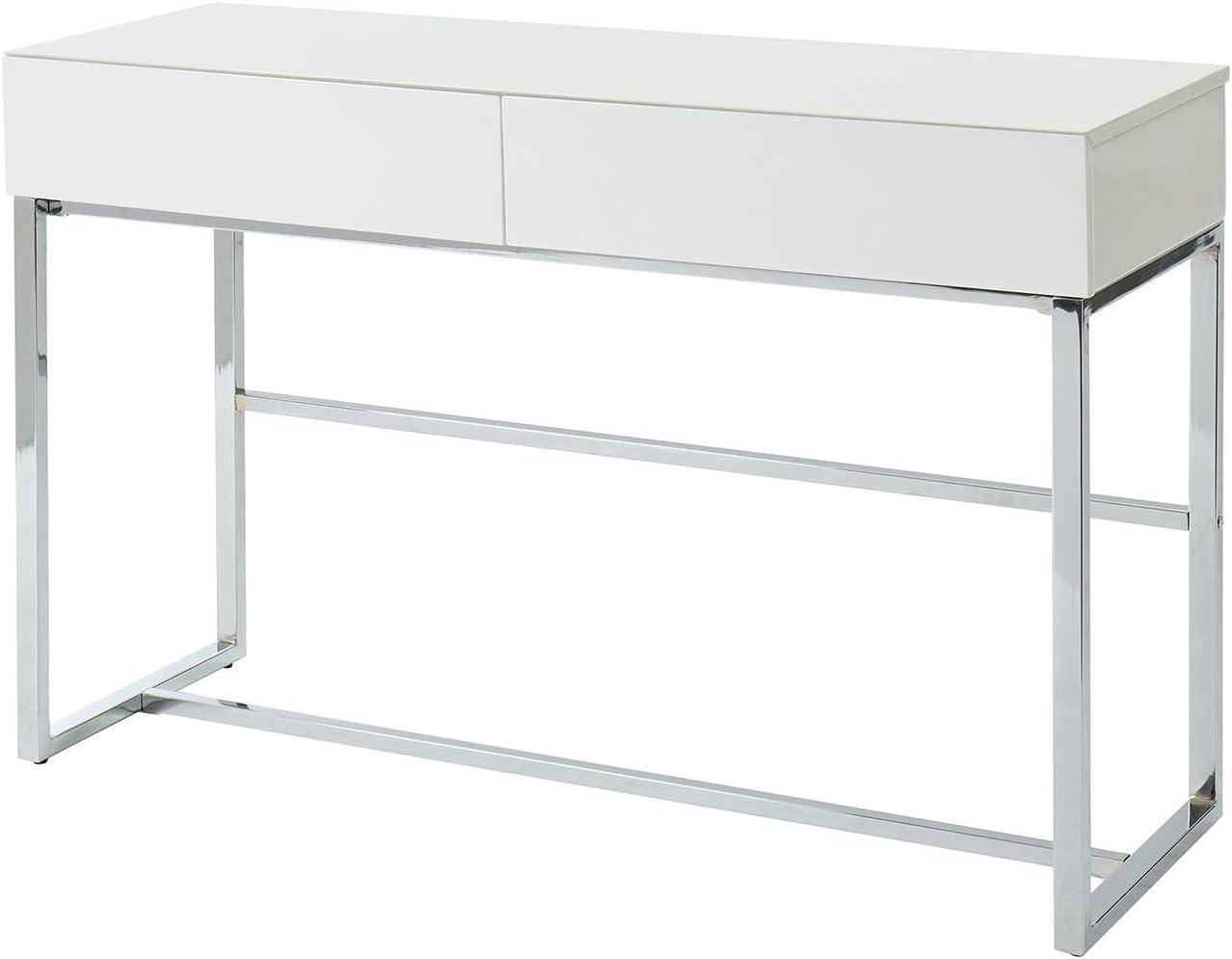 Furniture of America Juni Sofa Table, White