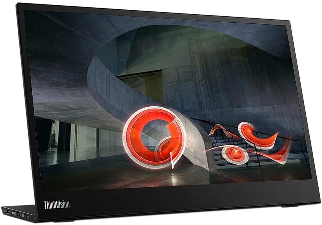 [OB] Lenovo ThinkVision M14 14 inches Ful HD 1920x1080 IPS Monitor - 300 Nit 6ms 2xUSB (Renewed)