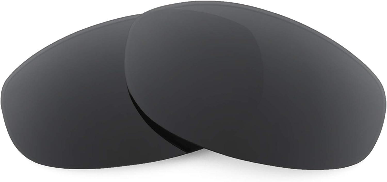Revant Verres de Rechange pour Oakley Tightrope - Compatibles avec les Lunettes de Soleil Oakley Tightrope Noir Furtif - Polarisés Elite