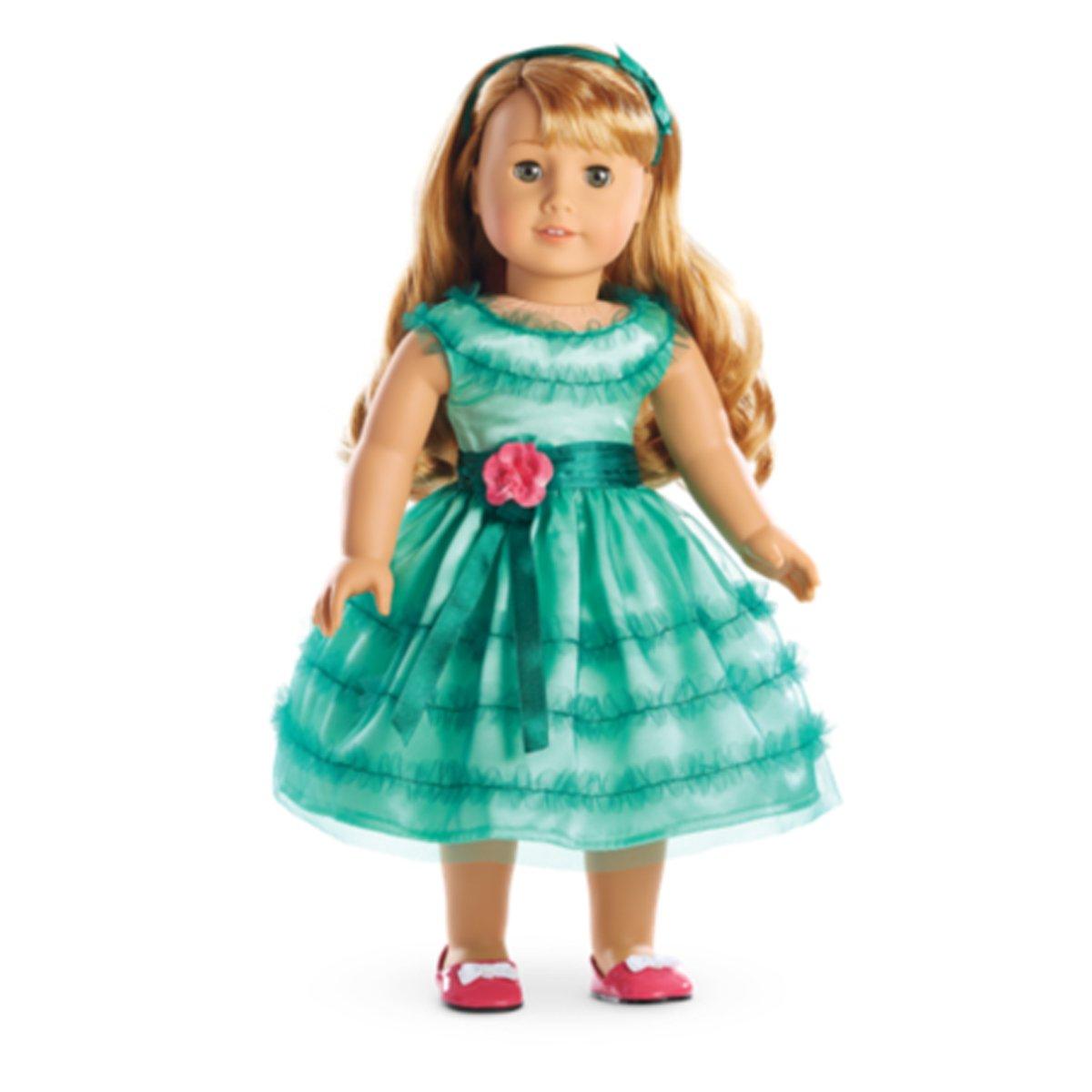Amazon.com: American Girl Maryellen\'s Birthday Dress: Toys & Games
