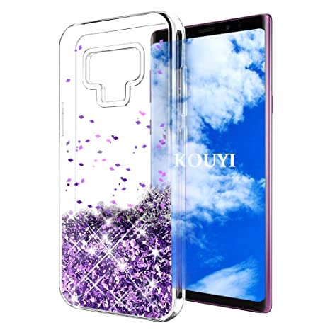 coque samsung note 9 transparent violet