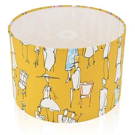 Pantalla para lámpara de mesa (35 cm), diseño de Ocre Mustard ...