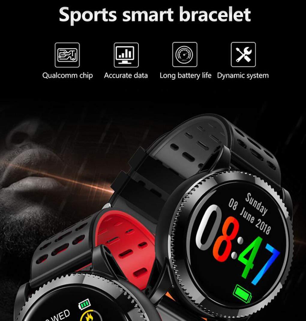 Smart Mit Herzfrequenz P67 Stahlband Wasserdichtes Blut Watch Yuec N8wn0ZXOPk