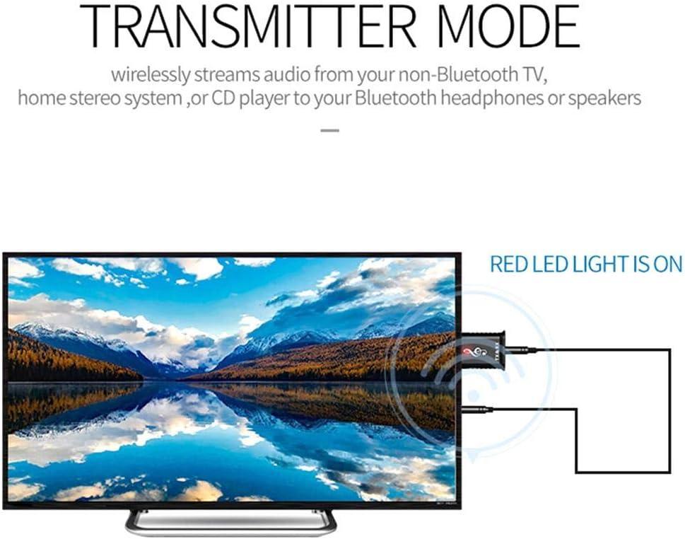 2 en 1 USB Bluetooth 5.0 transmisor receptor para la computadora TV altavoz del coche adaptador de audio inalámbrico: Amazon.es: Hogar