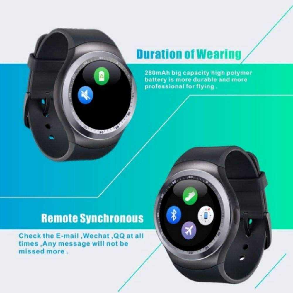 Onewell Bluetooth Y1 Reloj Inteligente Relogio Android SmartWatch ...