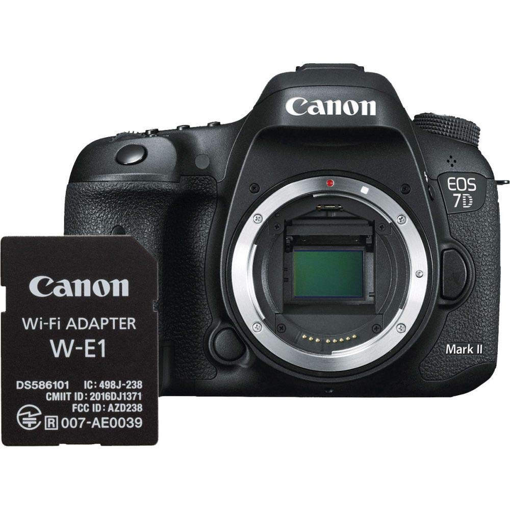 Canon EOS 7d Mark II + w-e1 Cuerpo de la cámara SLR 20.2 MP CMOS ...