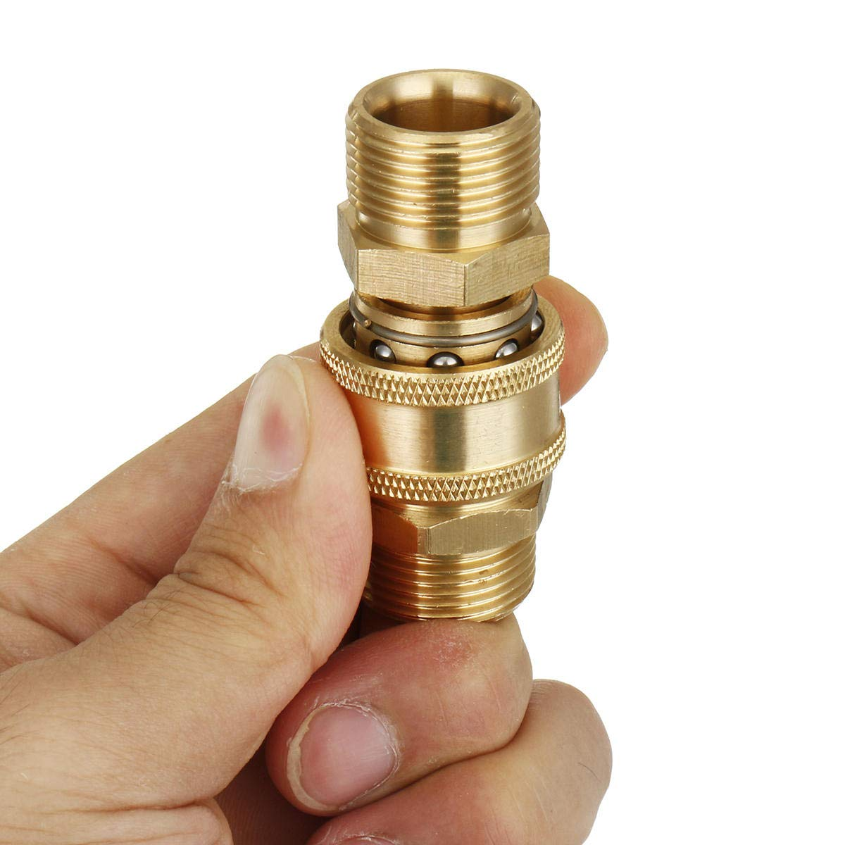 3 piezas M22 a 3//8 Quick-Connect tuber/ías de lavadora de presi/ón de acoplamiento de manguera