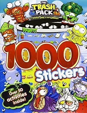 The Trash Pack: Activity Book With 1000 Stickers! by The Trash Pack