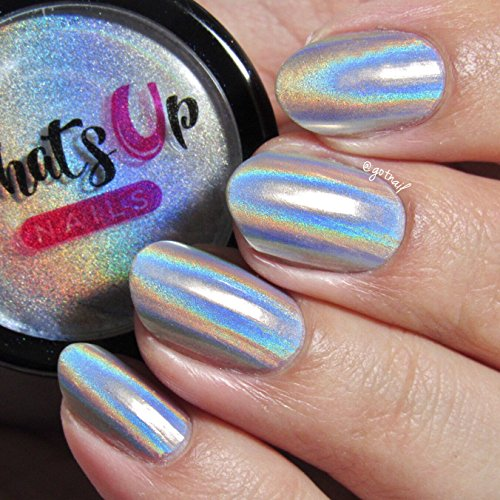 Best Holographic Nail Powder: Holographic Powder For Rainbow Unicorn