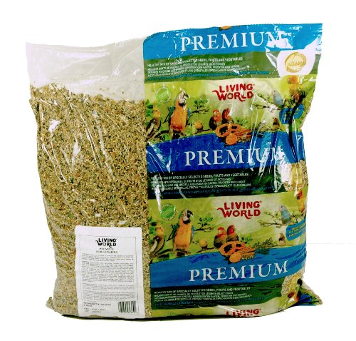 Living World Premium Bird Canary Mix, 20-Pound