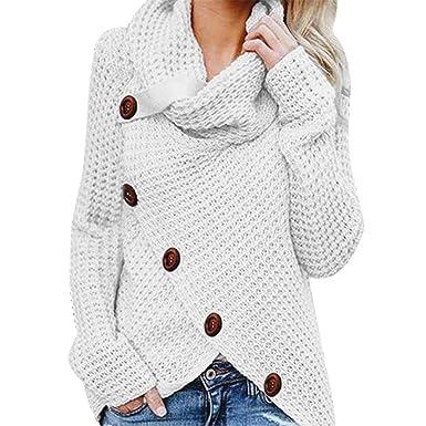 01cee6343e49 Sweatshirt Femme Chemisier Pin Up Chic Pull Femme Pas Cher A La Mode Ample Pull  Tricoté