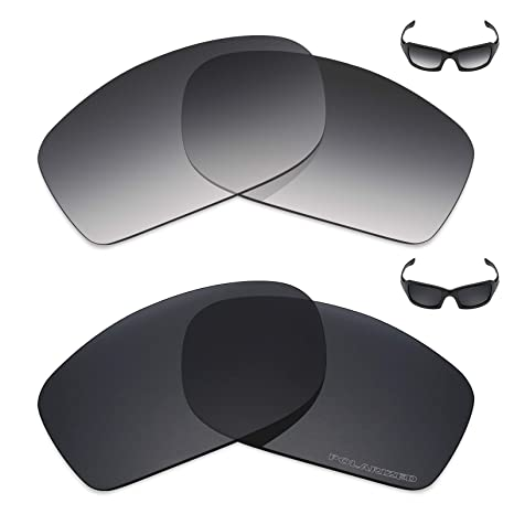 c01dda97851 Image Unavailable. Image not available for. Color  Mryok+ 2 Pair Polarized  Replacement Lenses for Oakley Fives Squared Sunglass ...