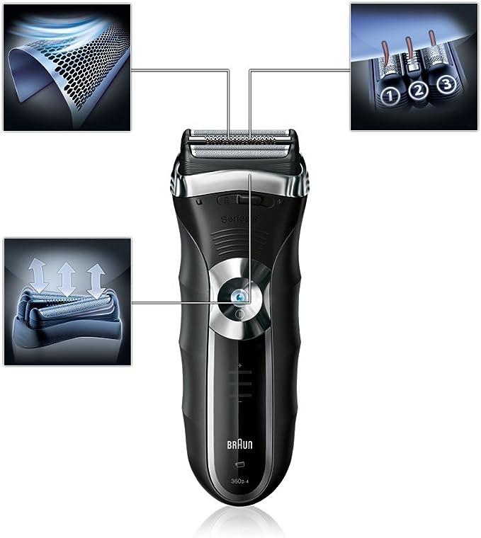 Braun - Afeitadora Series 3 360: Amazon.es: Salud y cuidado personal