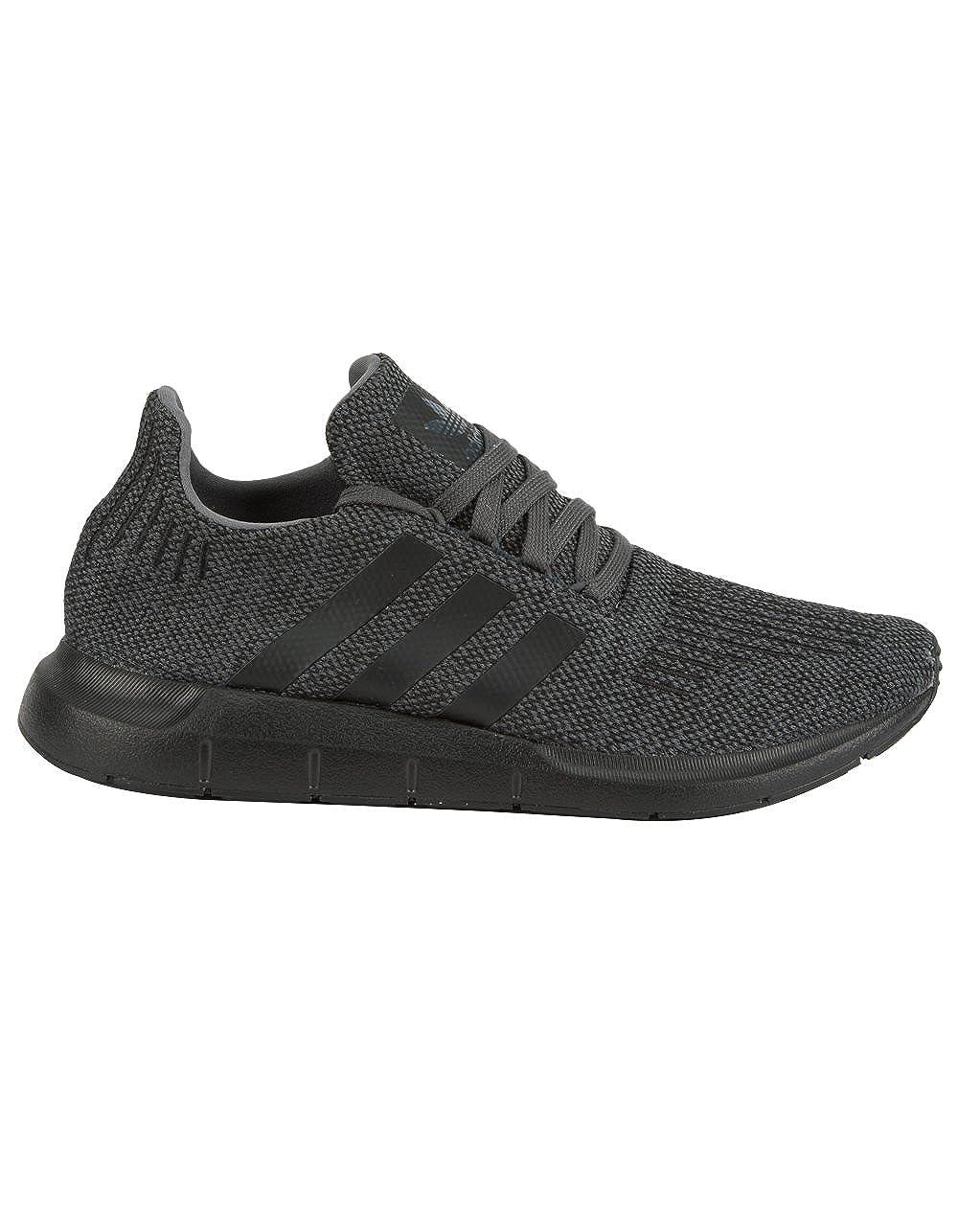 adidas Mens SWIFT RUN M Grey Black Black – AC7164 Grey Five Core Black, 8 D M US