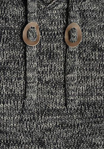 Con Maglione In Cotone Maglia Da Pluto 100Black9000 Pullover Maglieria Uomo Cappuccio solid Grossa xrCdWeBo