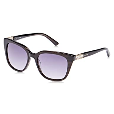 f3a366f4d نظارة شمسية بتصميم افياتور من دولتشي اند غابانا لكلا الجنسين - اطار بلون  اسود، عدسات بلون رمادي، DG4221-501/8G