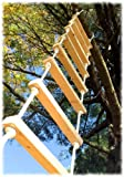 8' Outdoor, UV Resistant Rope Ladder by treehousesupplies.com offers