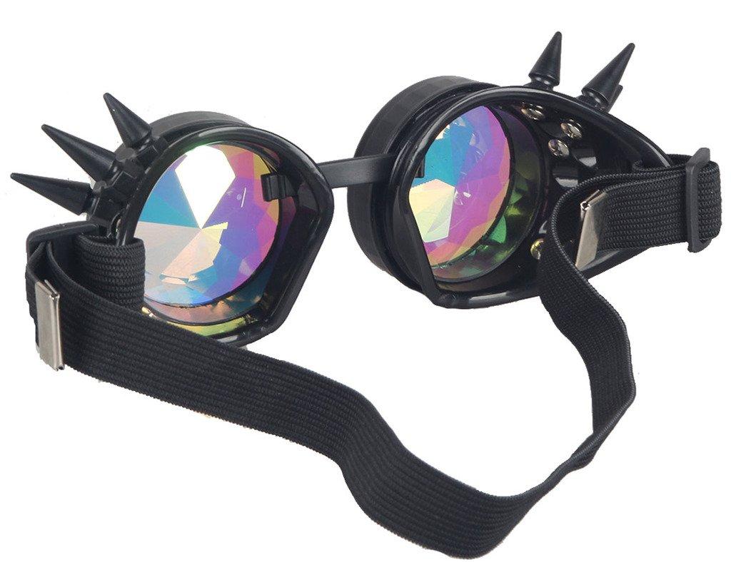 Kids' Clothing, Shoes & Accs Zaiqun Rivet Steampunk Windproof Mirror Vintage Gothic Lenses Goggles...
