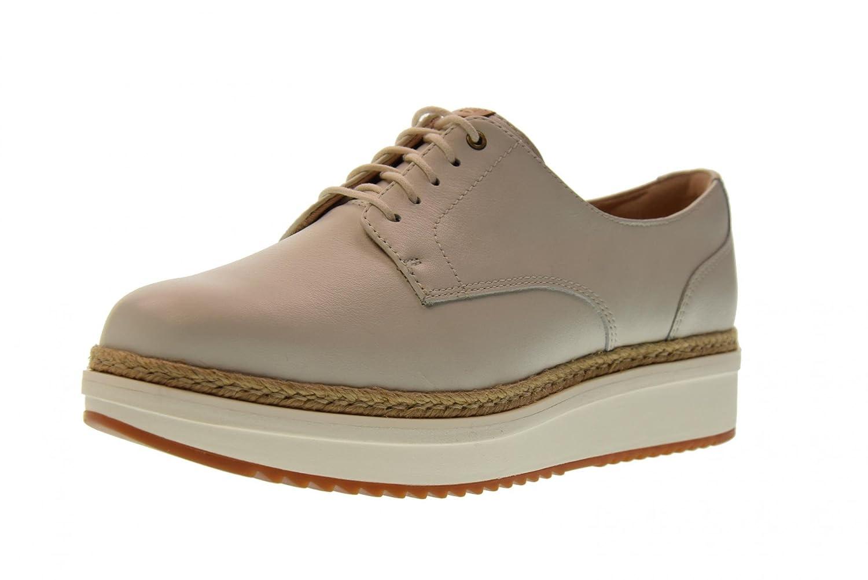 Clarks Schuhe Frau Turnschuhe mit Plattform 26131976 TEADALE Rhea
