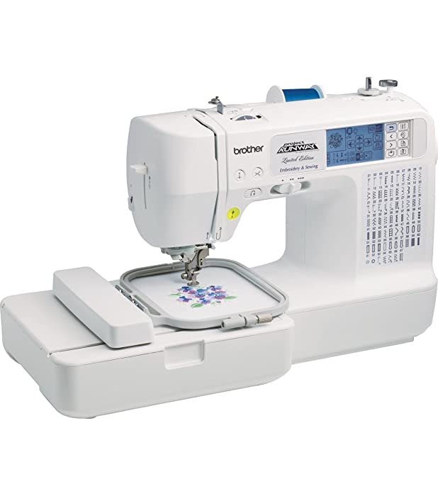 Best Convenient Embroidery Sewing Machine For Home Use: Brother LB6800PRW