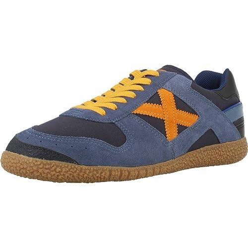 Calzado deportivo para hombre, color Azul , marca MUNICH, modelo Calzado Deportivo Para Hombre MUNICH GOAL 1346 Azul: Amazon.es: Zapatos y complementos