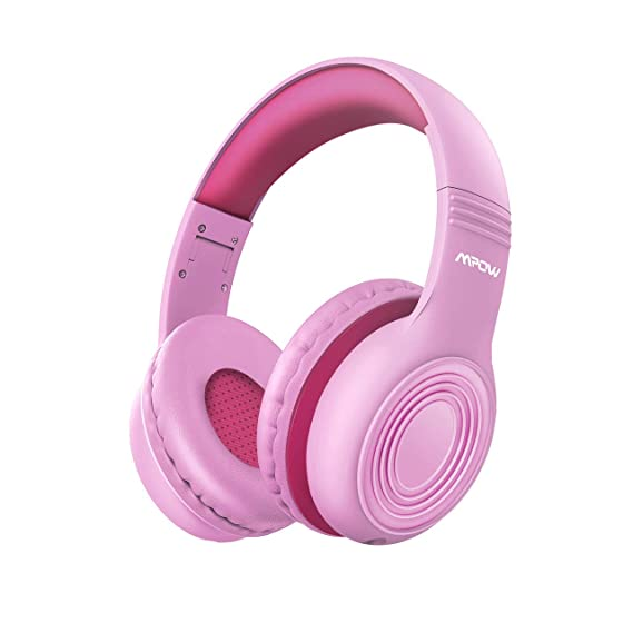 2019 New Version Mpow CH6 HD Sound Sharing Function Headphones for Children Boys Girls Volume Limited Safe Foldable Headset w/Mic for School/PC/Cellphone Kids Headphones Over-Ear/On-Ear