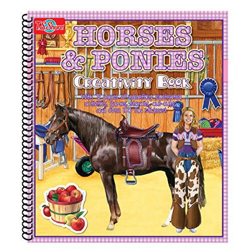 T.S. Shure Horse & Ponies Creativity Book