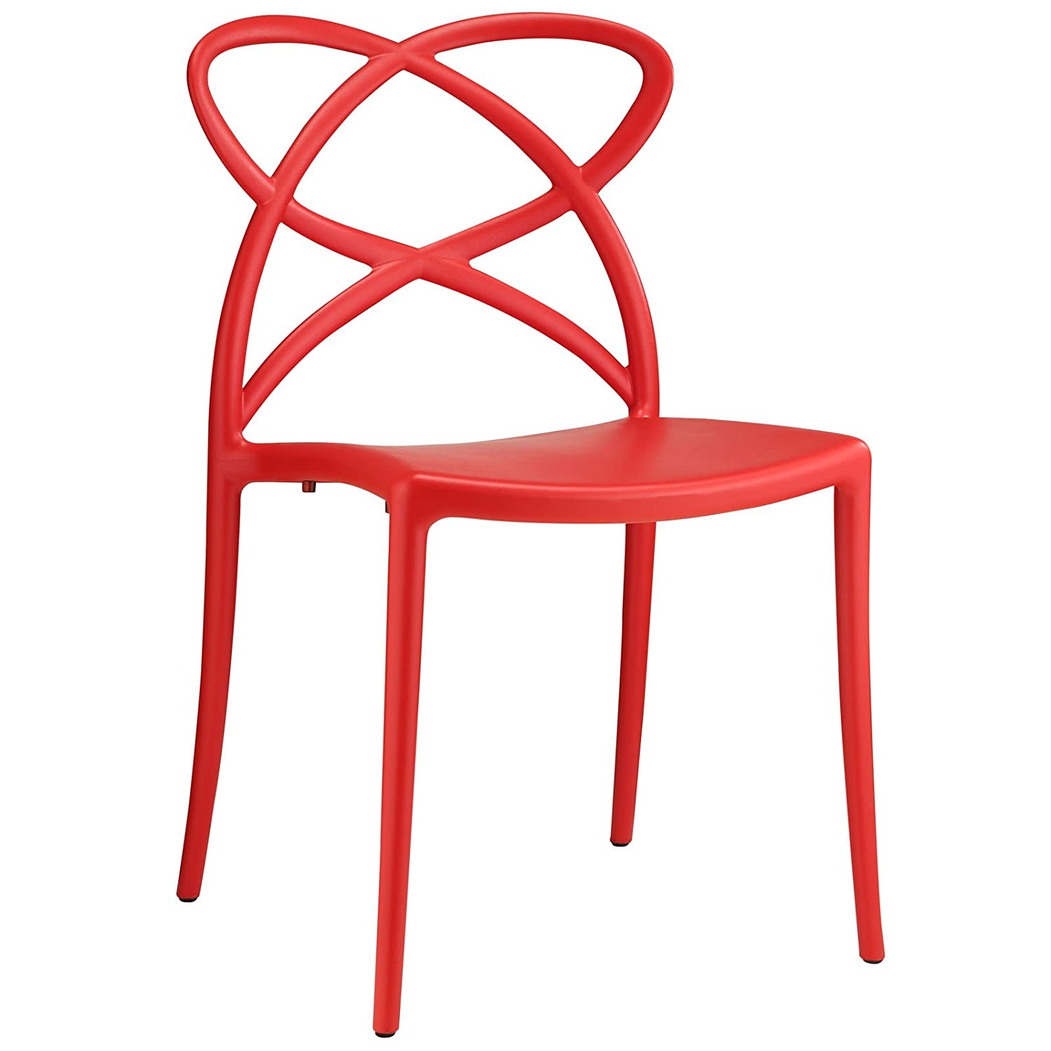 Modway Enact Dining Side Chair, Orange Modway© EEI-1492-ORA