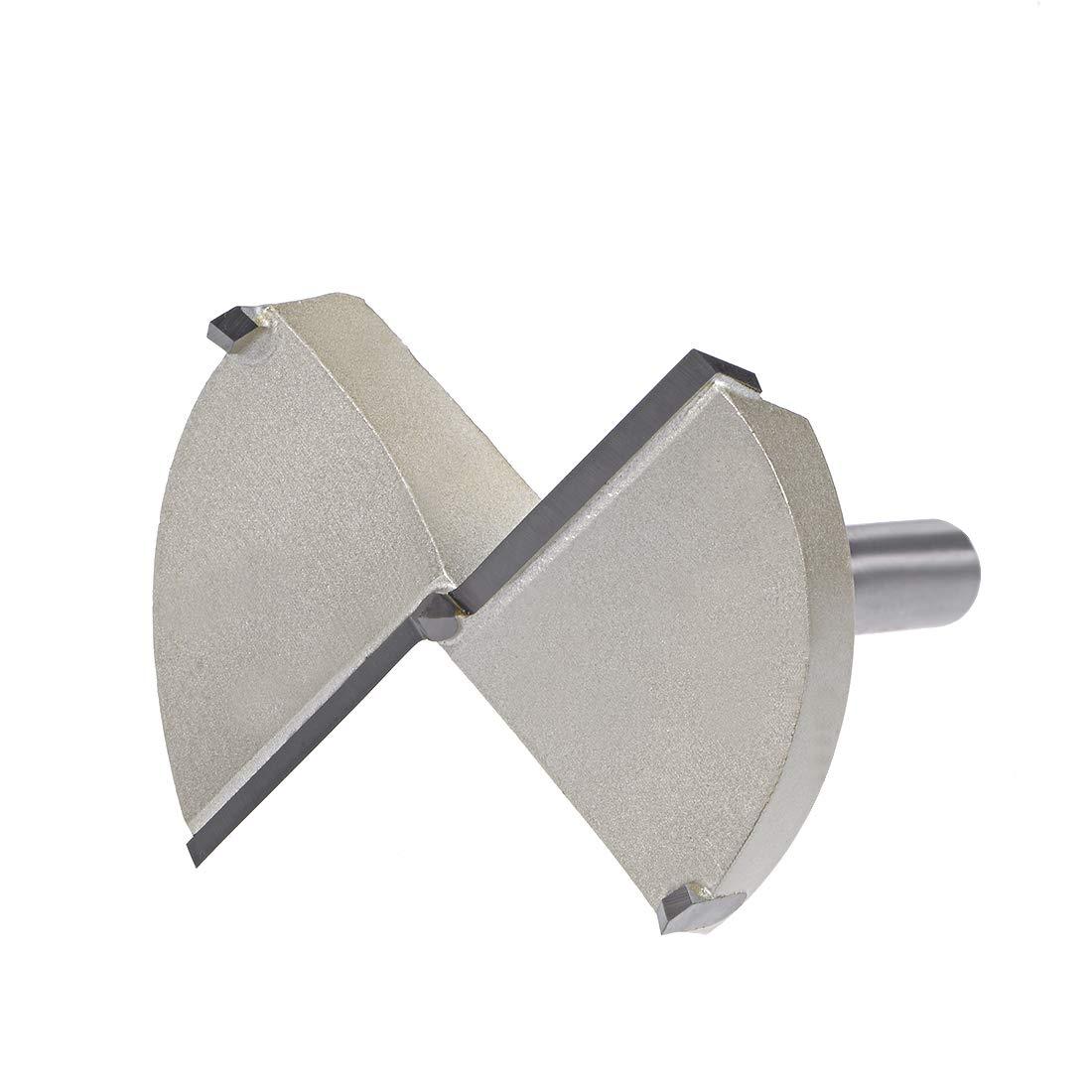 10mm x 30mm Shank uxcell 45mm Hinge Boring Forstner Drill Bit