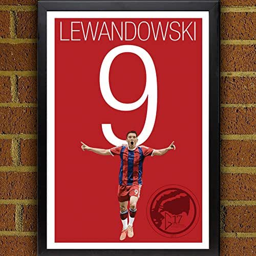 Amazon.com: Robert Lewandowski Poster - Bayern Munich