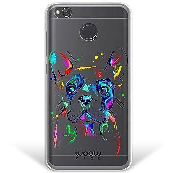WoowCase Funda Xiaomi Redmi 4X, [Hybrid ] Perro Bulldog Francés Dibujos Animales Case Carcasa [ Xiaomi Redmi 4X ] Rígida Fabricada en Policarbonato y ...