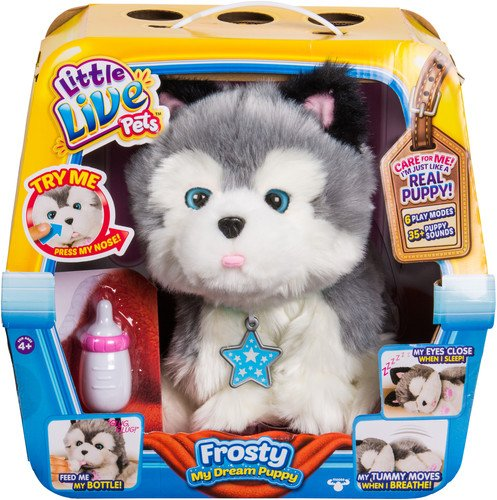 Little Live Pets Frosty My Dream Puppy Dreams Rub