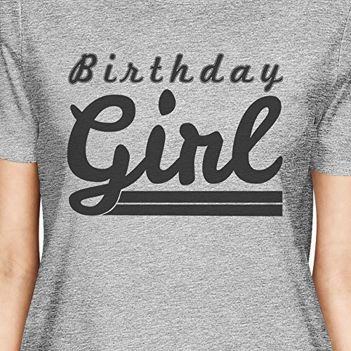 Courtes Manches Unique Grey Femme Girl 365 Taille T Printing Birthday shirt wZ4IgB