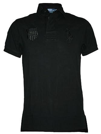Ralph Lauren Diseñador Hombre Polo Shirt Camisetas - USA Pony -S ...