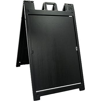 Amazon Com Plasticade Signicade Portable Folding A Frame