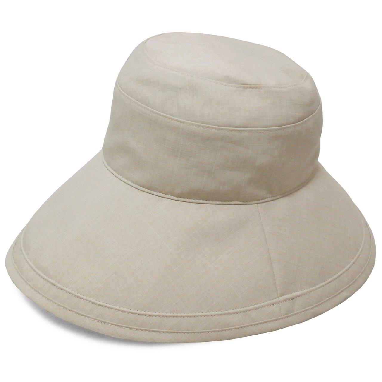Rose Blanc(ロサブラン) 100%完全遮光 帽子 プレーンハット12cm (通気性タイプ) Sサイズ B06WWDRB2W DungareeBeige(ダンガリーベージュ) DungareeBeige(ダンガリーベージュ)