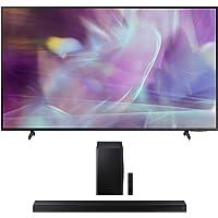 "Samsung QN43Q60AA 43"" QLED Q60 Series 4K Smart TV Titan Gray with a Samsung HW-T650 Bluetooth Soundbar with Dolby Audio…"